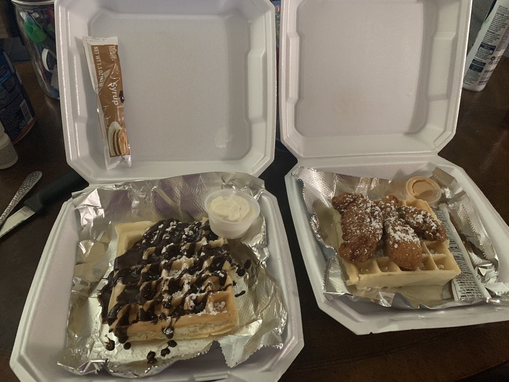 Food from Waffle O'licious