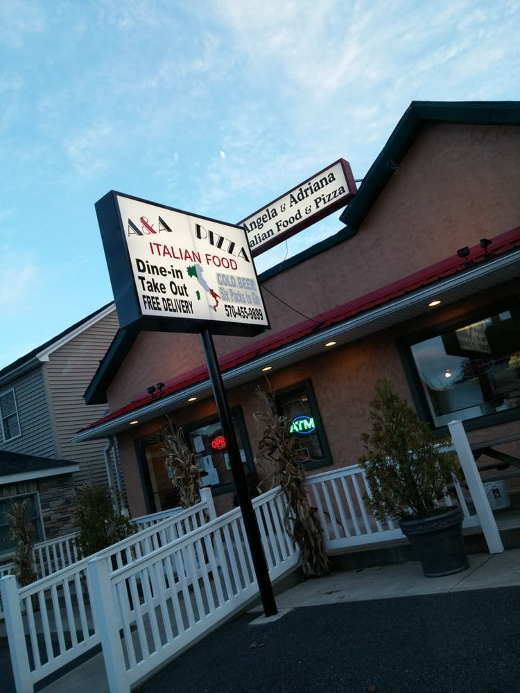 A&A Pizza and Italian Food: 14 Broad St, Beaver Meadows, PA