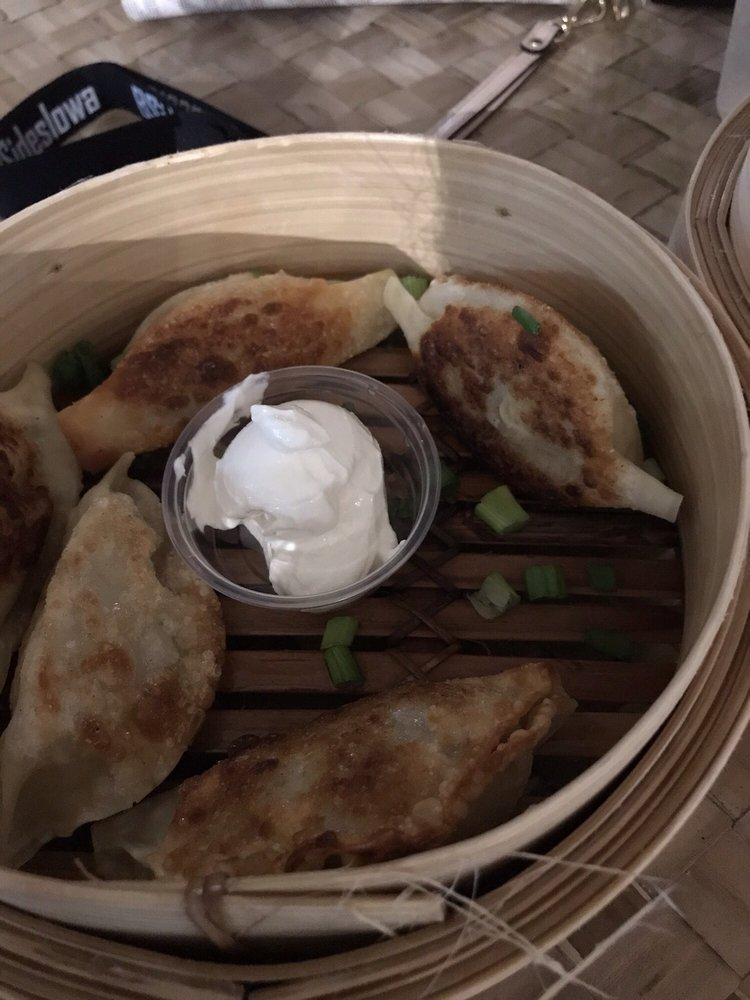 Photo of Dumpling Darling - Des Moines, IA, United States. Fried Potato pierogies