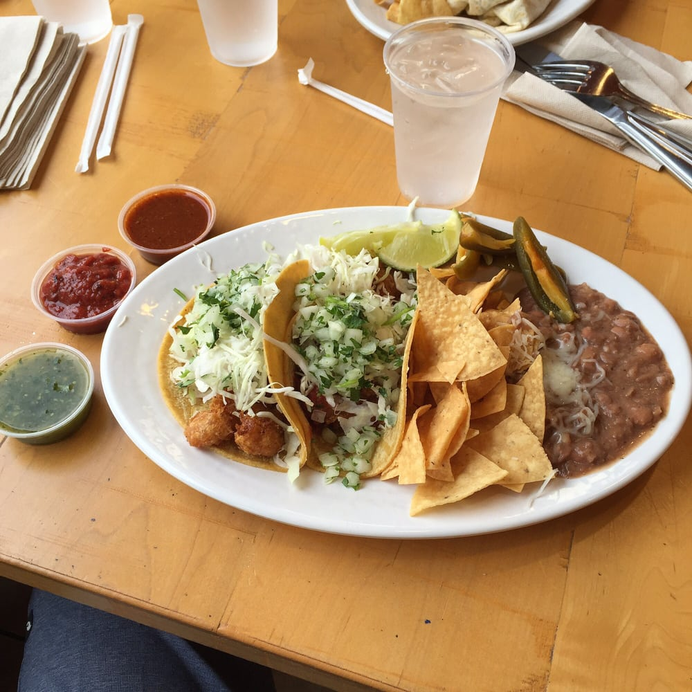 Love the fish tacos here yelp for Rubio s coastal grill the original fish taco