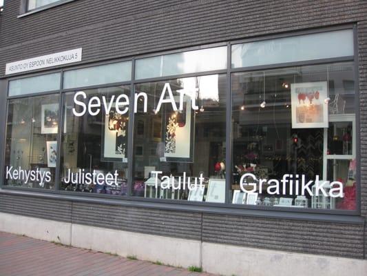 myyntipiste myynnissä täysin tyylikäs hyvä laatu Seven Art - CLOSED - Framing - Leppävaarankatu 3-9, Espoo ...