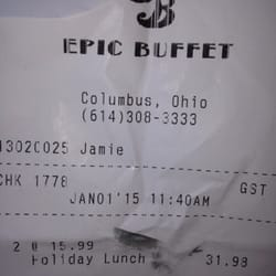 Photo Of Epic Buffet At Hollywood Casino   Columbus, OH, United States. 2