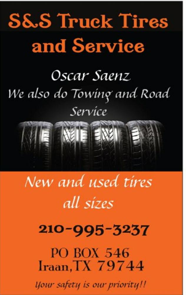 S&S Truck Tire & Service: Iraan, TX
