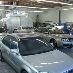 Peak auto body officine carrozzerie 1638 s central ave for 2 officine di garage per auto