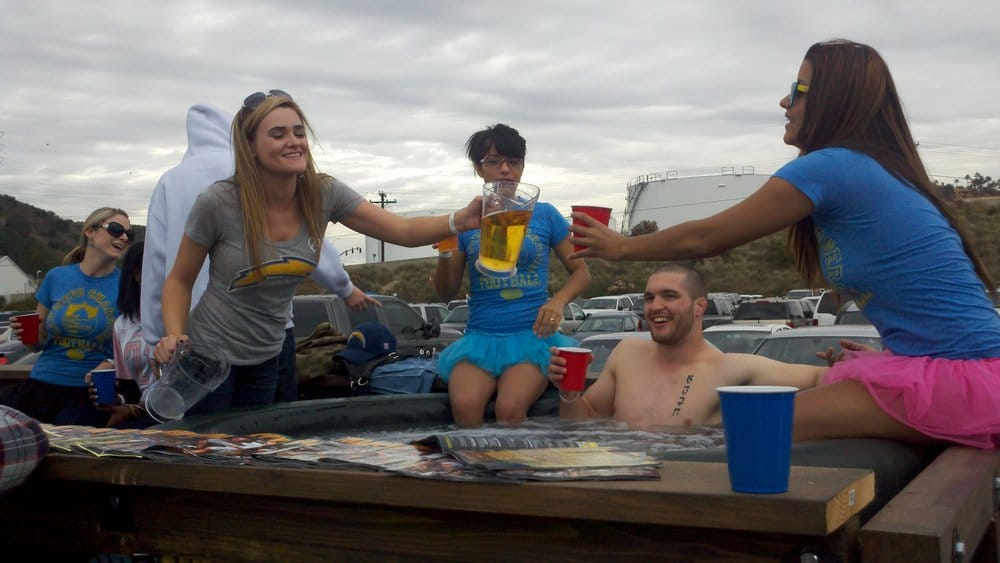 Hot Tub Party Trailer Available To Rent For Events Seen