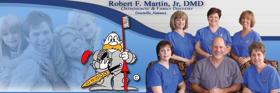 Robert F Martin, DMD: 137 Interstate Dr, Greenville, AL