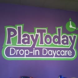 Play Today Drop-In Daycare logo
