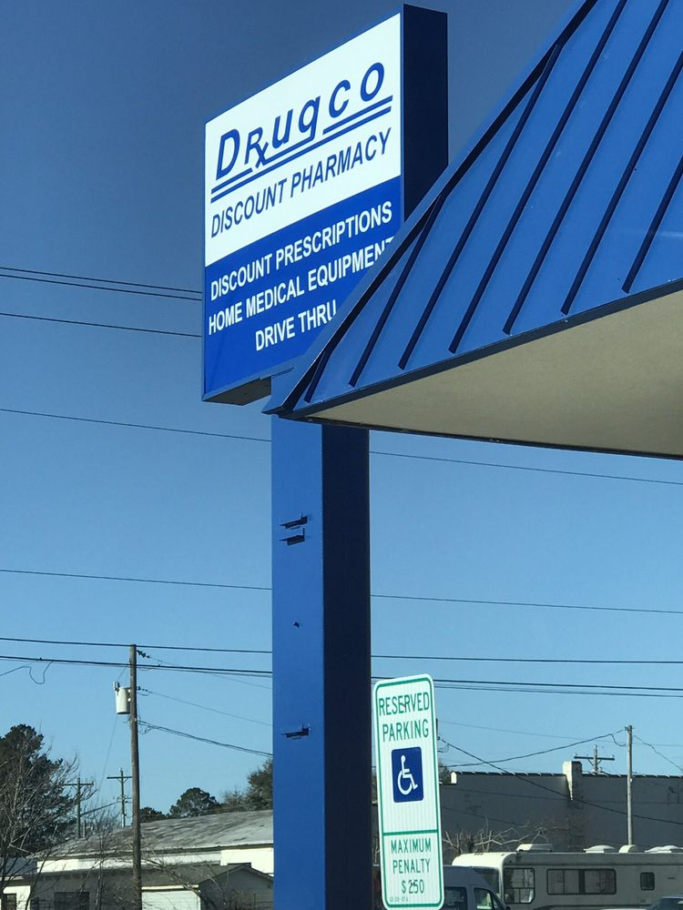 Drugco Discount Pharmacy: 1507 N Main St, Tarboro, NC