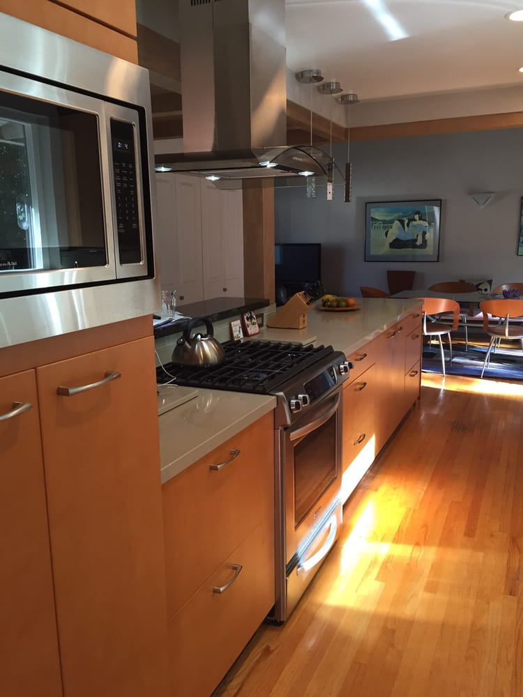 New kitchen designed by Ana Del Valle of The Kitchen Store in ...