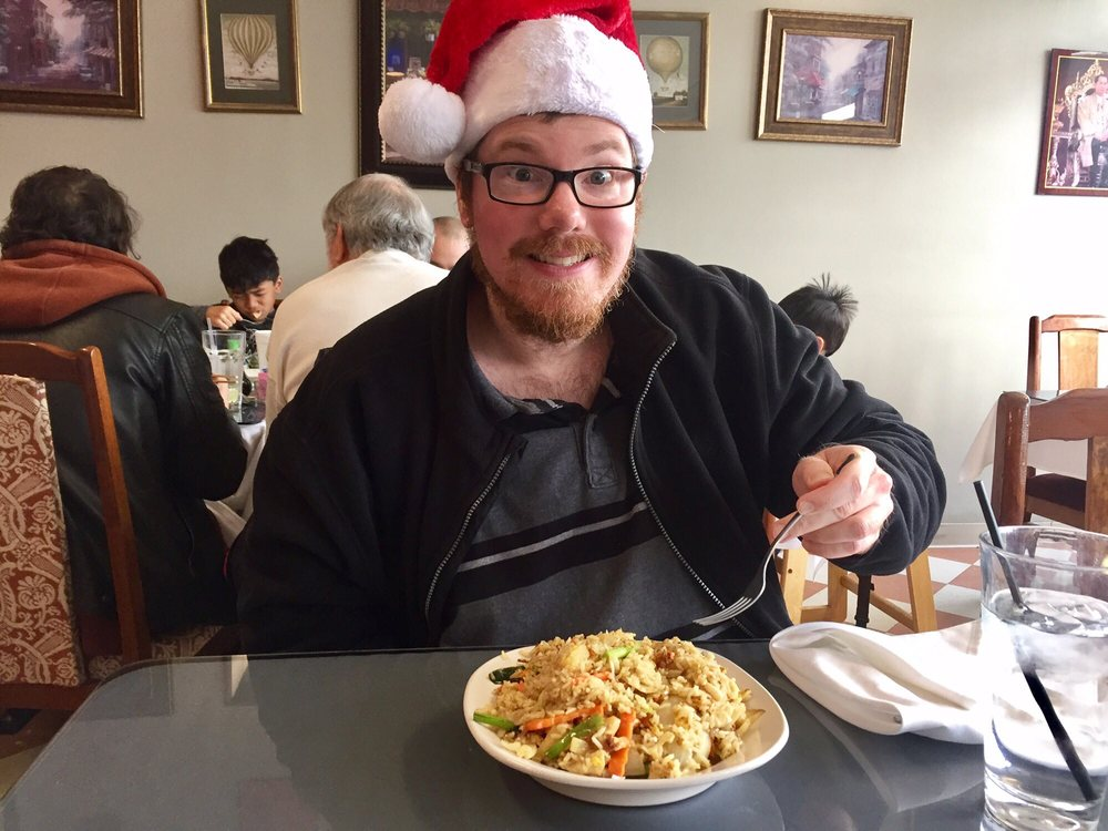 Pineapple fried rice thai spicy and a ginger in a santa hat yelp - Malabar indian cuisine richmond va ...