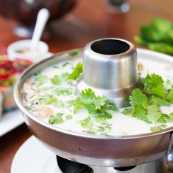 Photo Of Thai Dishes Manhattan Beach Ca United States Coconut Shrimp Soup