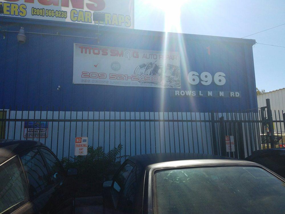 Tito's Smog and Auto Repair: 696 Crows Landing Rd, Modesto, CA
