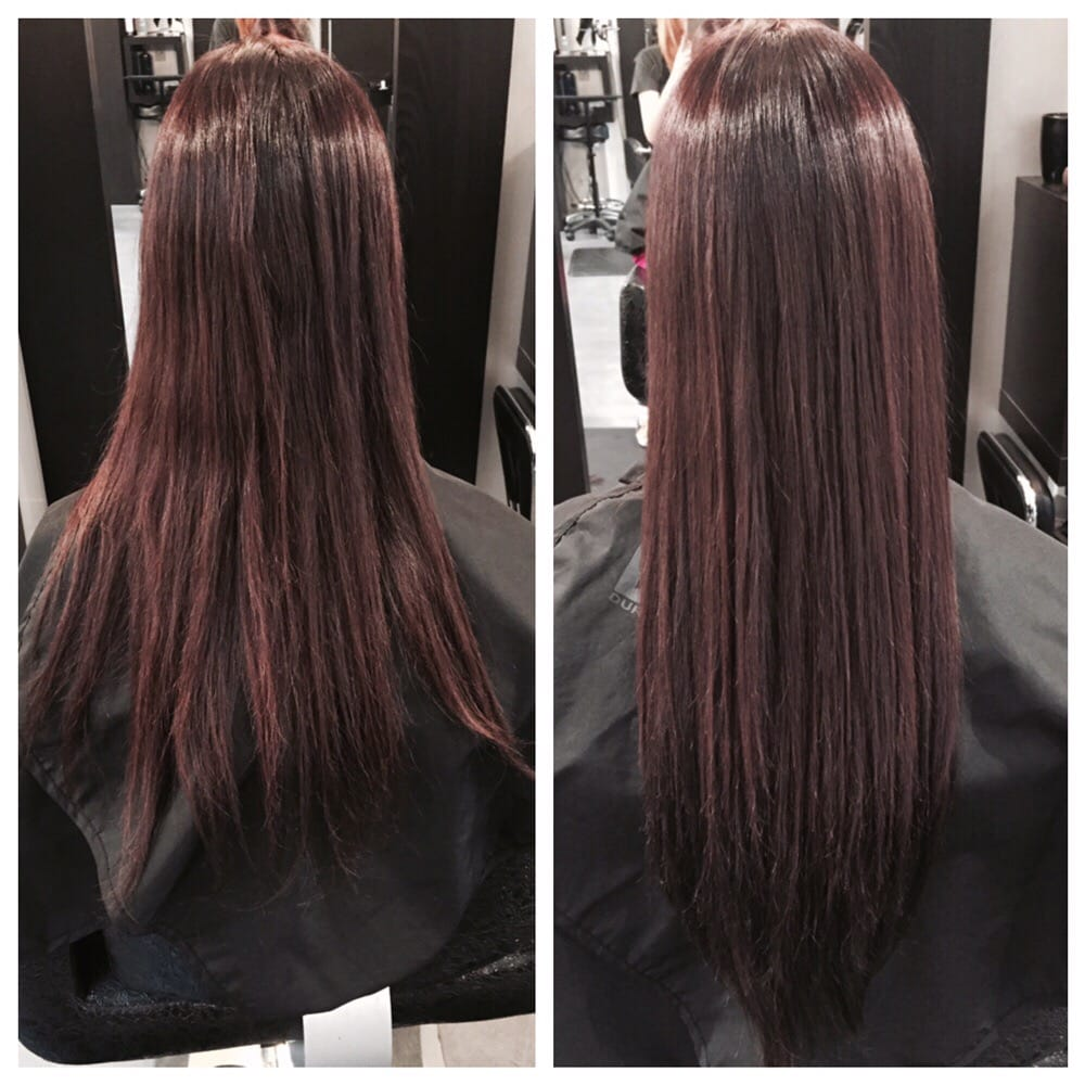 Color Brazilian Blowout And Hotheads Hair Extensions Yelp