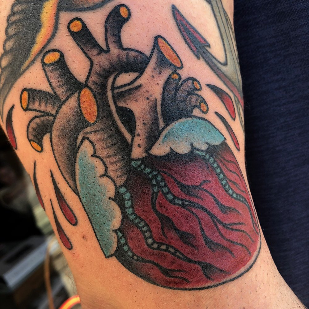 Crimson Hilt Tattoo: 2907 E Colfax Ave, Denver, CO