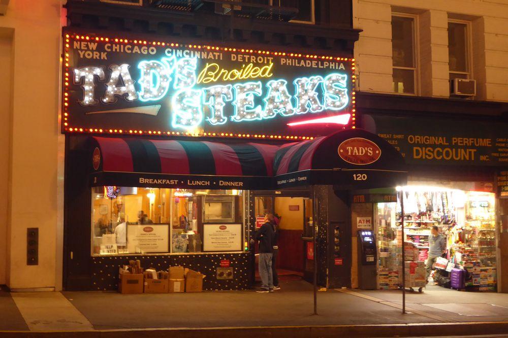 Photo Of Tads Steak Restaurant San Francisco Ca United States Night