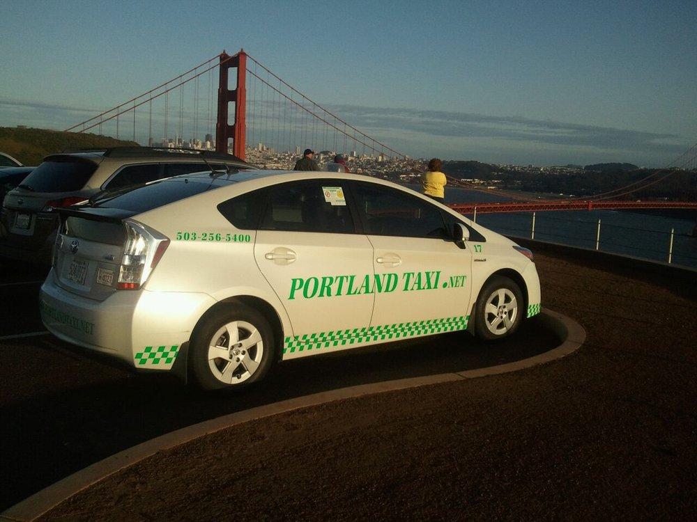 Portland Taxi Cab