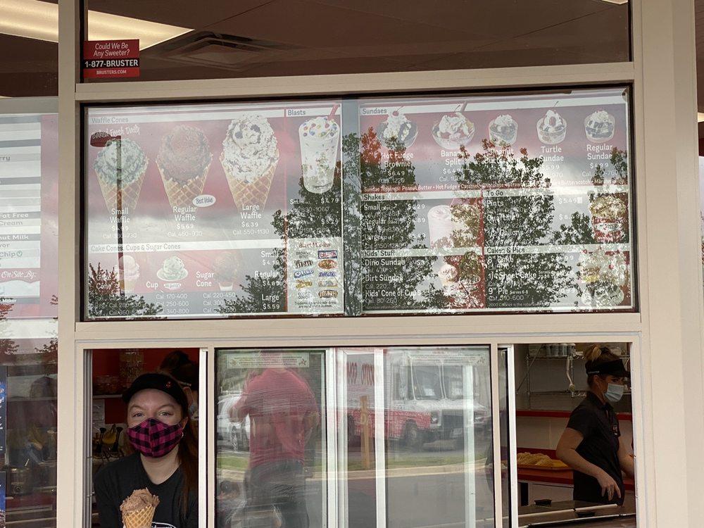 Bruster's Real Ice Cream: 43150 Broadlands Center Plz, Ashburn, VA
