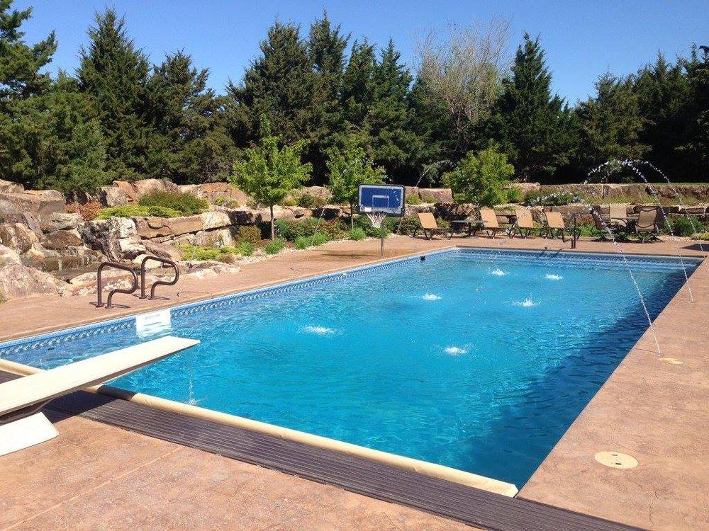 Deck jets make swimming pools fun - Yelp