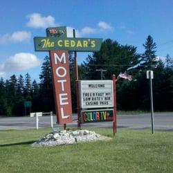 Photo Of Cedars Motel Saint Ignace Mi United States