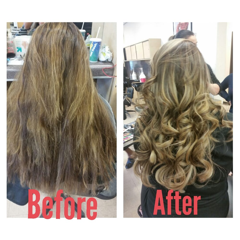 Blended ombre balayage yelp for Salon success