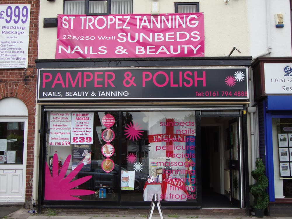 Pamper polish tanning 44 chorley road manchester for Aberdeen tanning salon