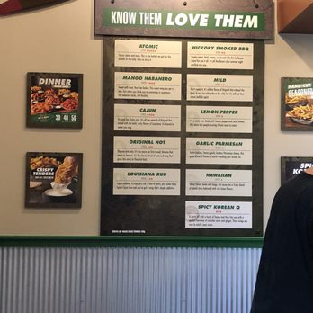 picture about Wingstop Printable Menu identify Wingstop - 30 Photographs 30 Evaluations - Rooster Wings - 10019 N