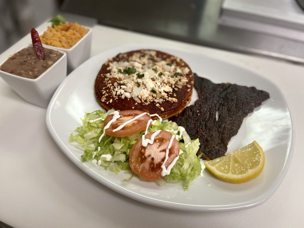 Food from La Joya Mexican Restaurant
