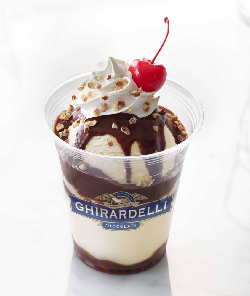 Ghirardelli Chocolate Outlet and Ice Cream Shop: 11980 S Harlan Rd, Lathrop, CA