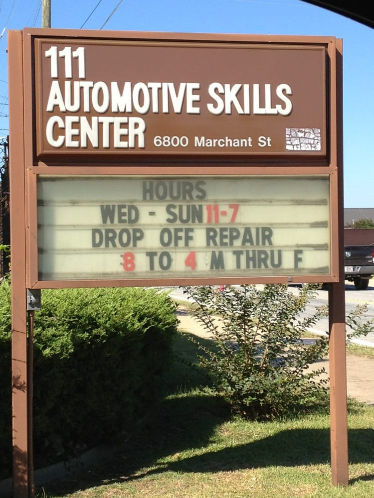 Auto Skills Center: 6800 Marchant St, Cusseta, GA