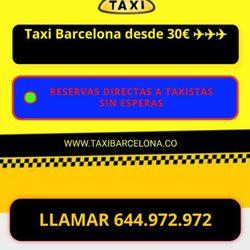 Taxi Barcelona - Sants, Barcelona, Spain - 2019 All You Need