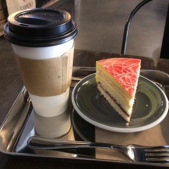 Photo Of Black Milk Water Burnaby Bc Canada Limoncello Raspberry Cake Plus