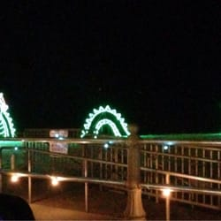 photo of holiday lights at the beach virginia beach va united states - Virginia Beach Christmas Lights