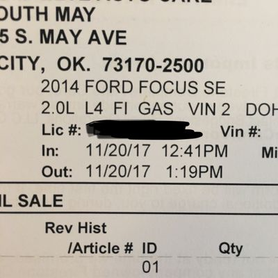 Firestone Complete Auto Care 10615 S May Ave Oklahoma City Ok Tire