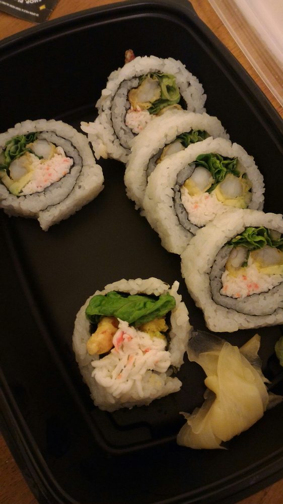Food from Hachi Japanese Grill & Sushi