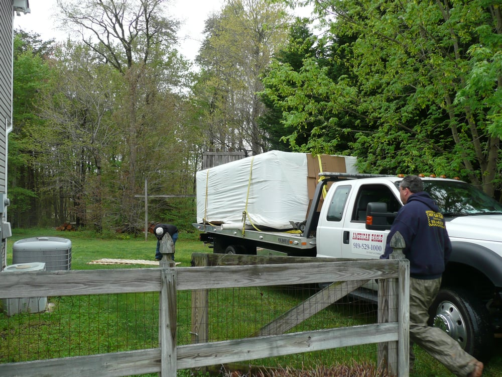 Moving The Swim Spa To The Back Yard Yelp