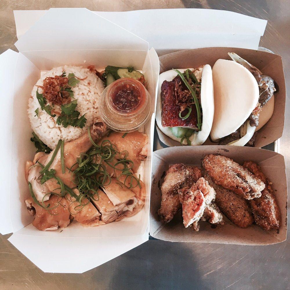 Food from Baos Hog