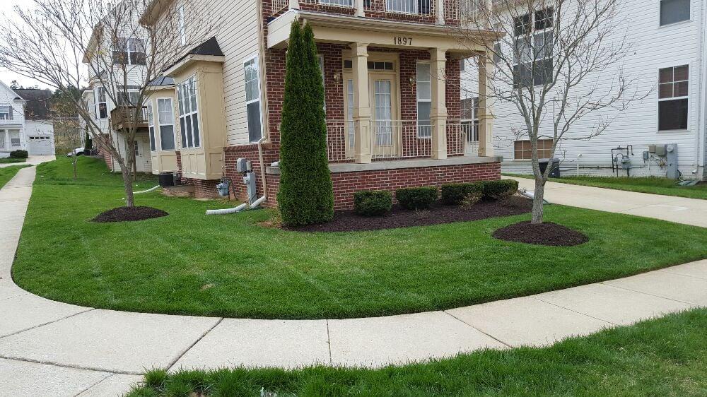 Van s lawn care get quote landscaping glen burnie for Garden maintenance van