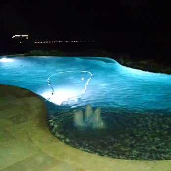Photo Of Supreme Pools Spas Spring Tx United States Night Time