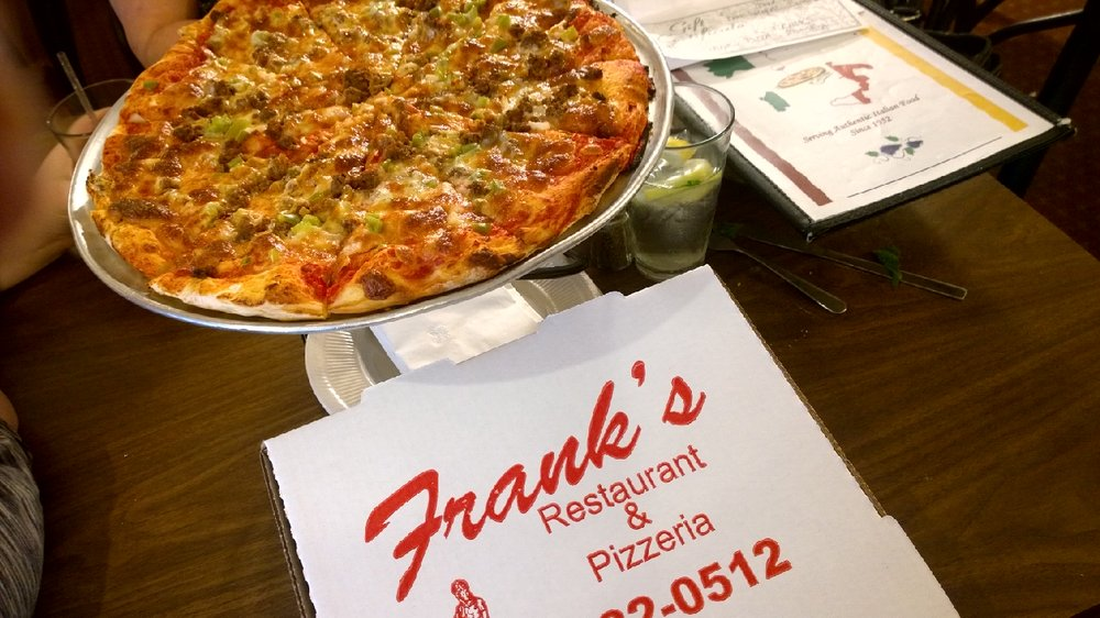 Franks Pizzeria & Restaurant: 3144 Biddle Ave, Wyandotte, MI