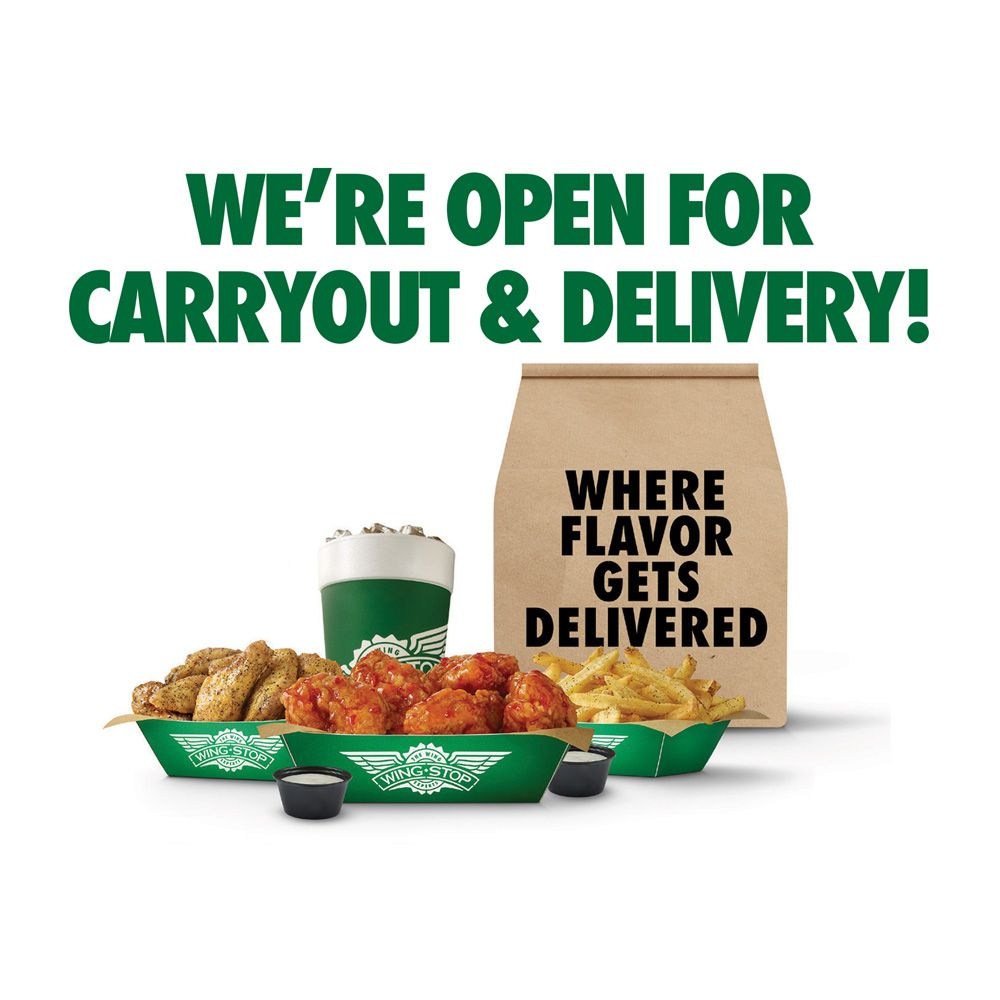 Food from Wingstop