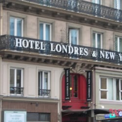 Hotel londres et new york hotels 15 place havre saint for Paris londres hotel pas cher