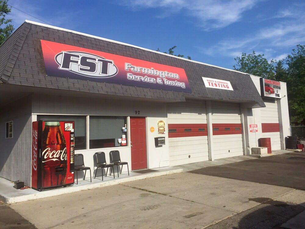 Farmington Service and Towing: 92 N Main St, Farmington, UT