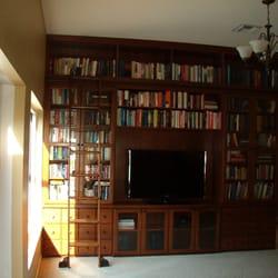 Photo Of K Kraft Cabinets   Rockledge, FL, United States. Rolling Ladder