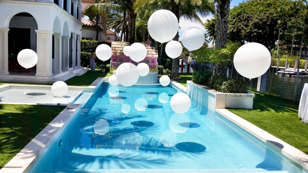 Giants Helium Balloons Pool Decoration By Dreamark Events Yelp