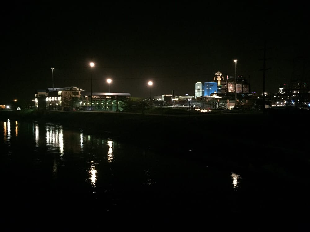 Nice View At Night Of The Skyline And Principal Park Yelp