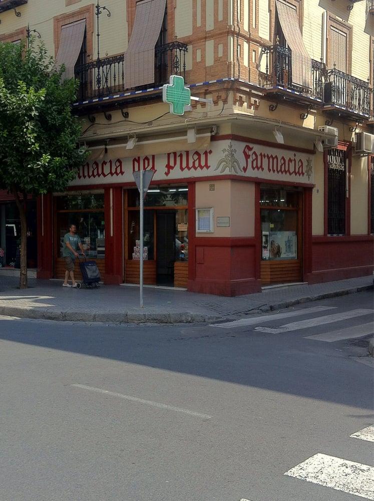 Farmacia del pilar farmacia calle feria 160 feria for Servicio tecnico jane sevilla calle feria