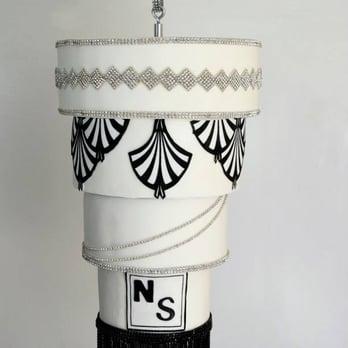 Art Deco Wedding Cake Los Angeles