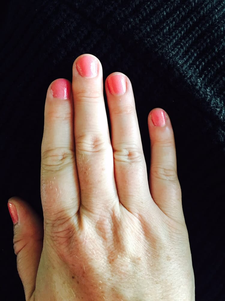 My nails are usually dry, cracked, peeled, and I cut them to the ...