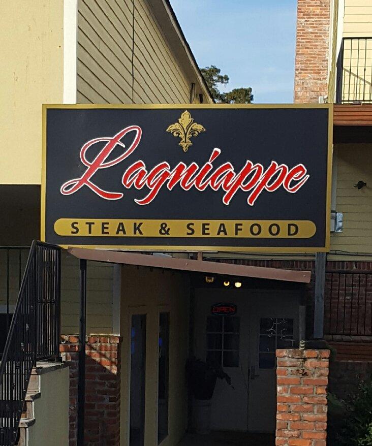 Lagniappe Steak And Seafood: 14030 Plank Rd, Baker, LA