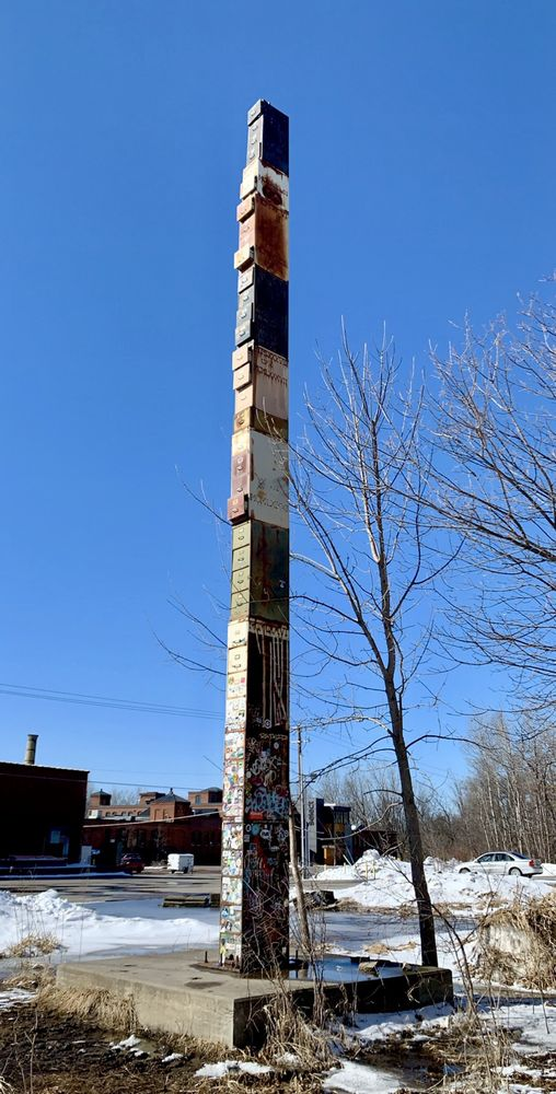 World's Tallest Filing Cabinet: Burlington, VT